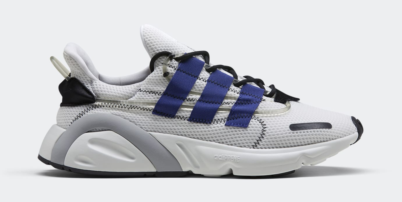 Adidas LXCON 'Cloud White/Active Blue/Core Black' DB3528 (Lateral)