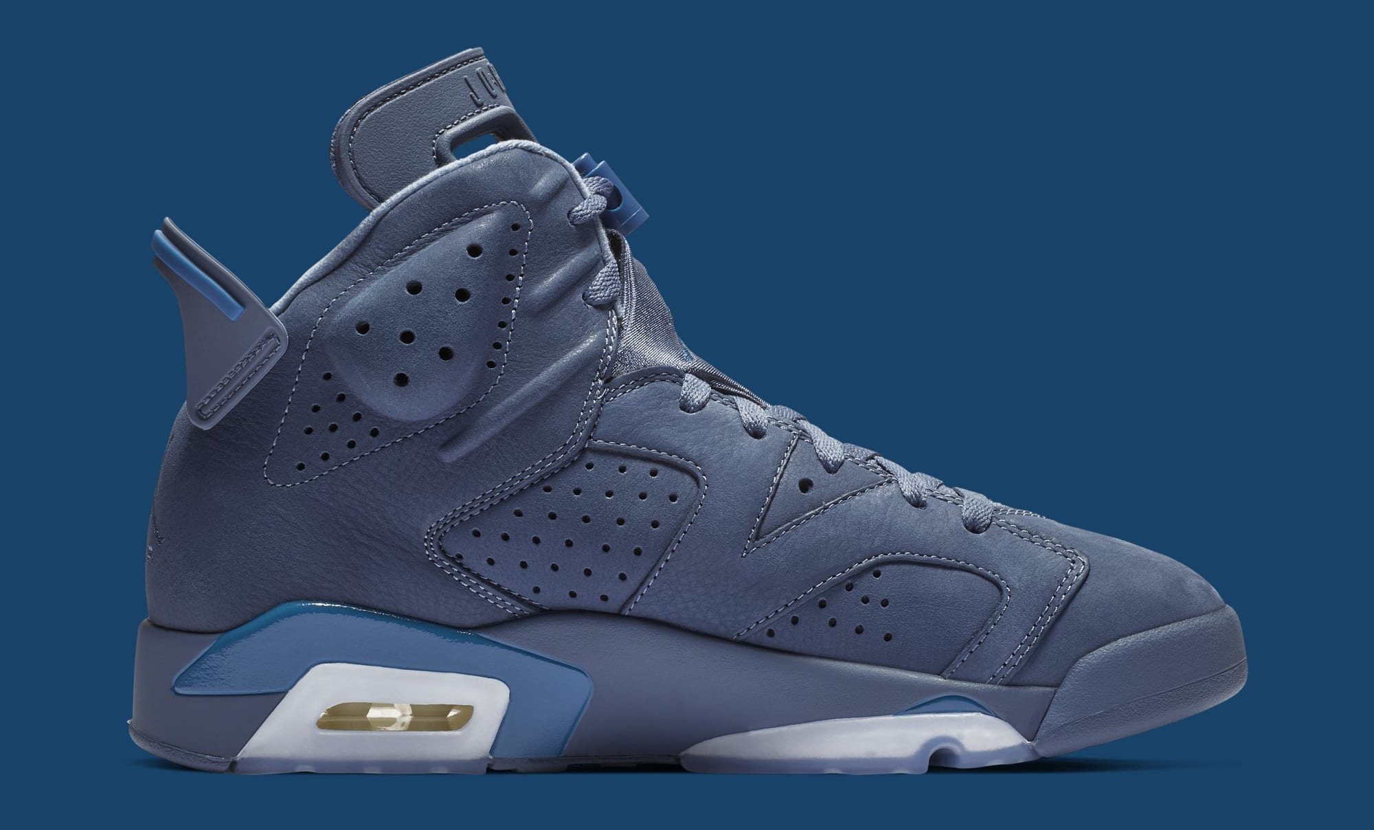 235d8372e356ba Nike Air Jordan 6 Retro Diffused Blue Jimmy Butler PE VI AJ6 384664 ...
