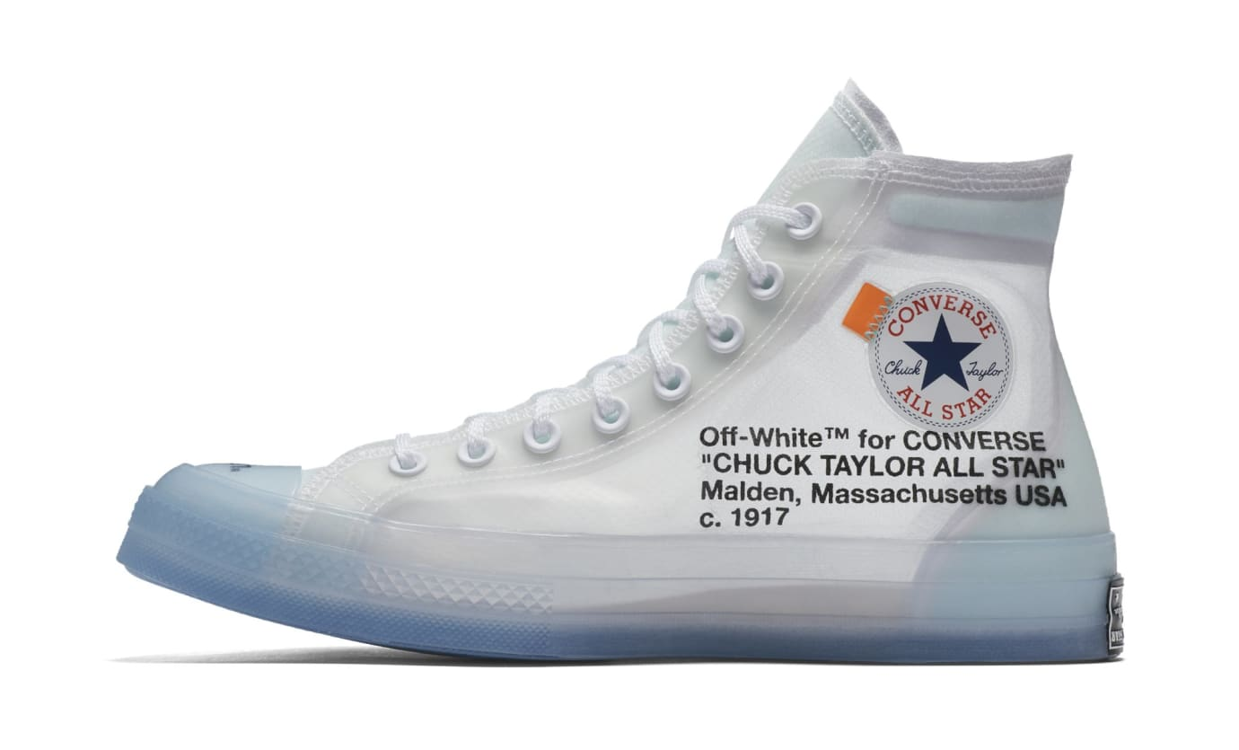 Off-White x Converse Chuck Taylor All Star 70 162204C-102 (Medial)