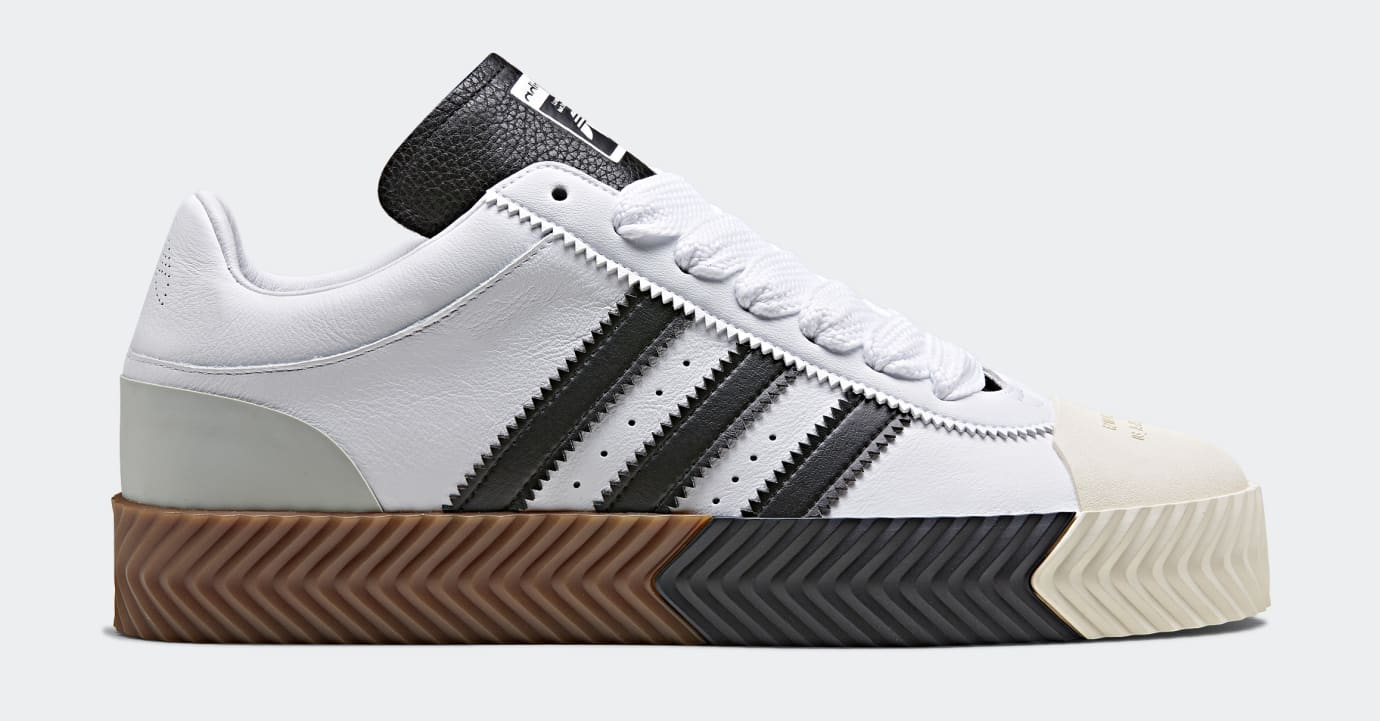 Alexander Wang x Adidas AW Skate Super 'White' (Lateral)