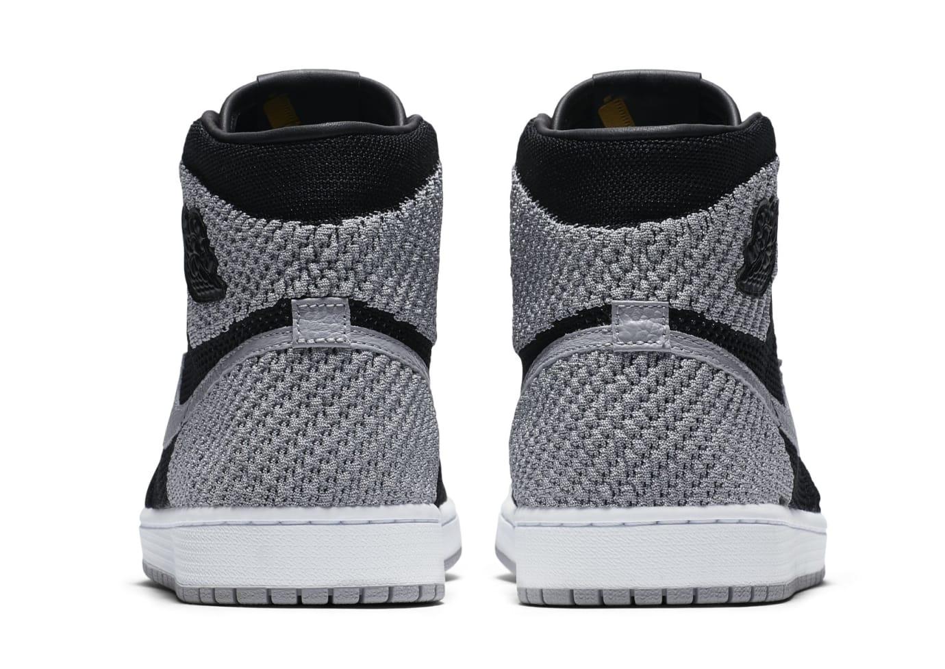 ab38b00654ff Image via Nike Air Jordan 1 Flyknit  Shadow  Black Medium Grey-White 919704- 003