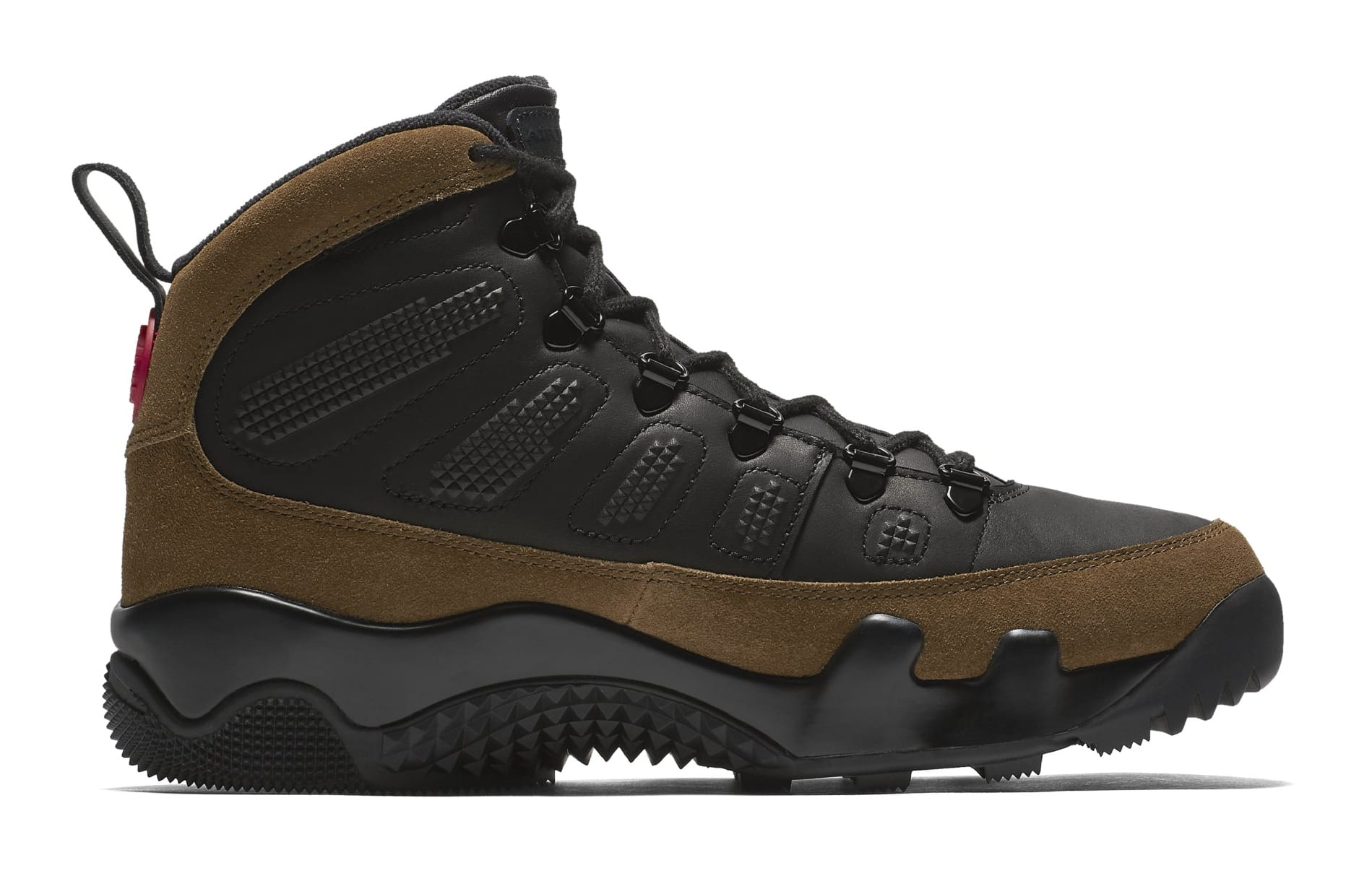 Air Jordan 9 NRG Boot 'Olive' AR4491-012 (Medial)