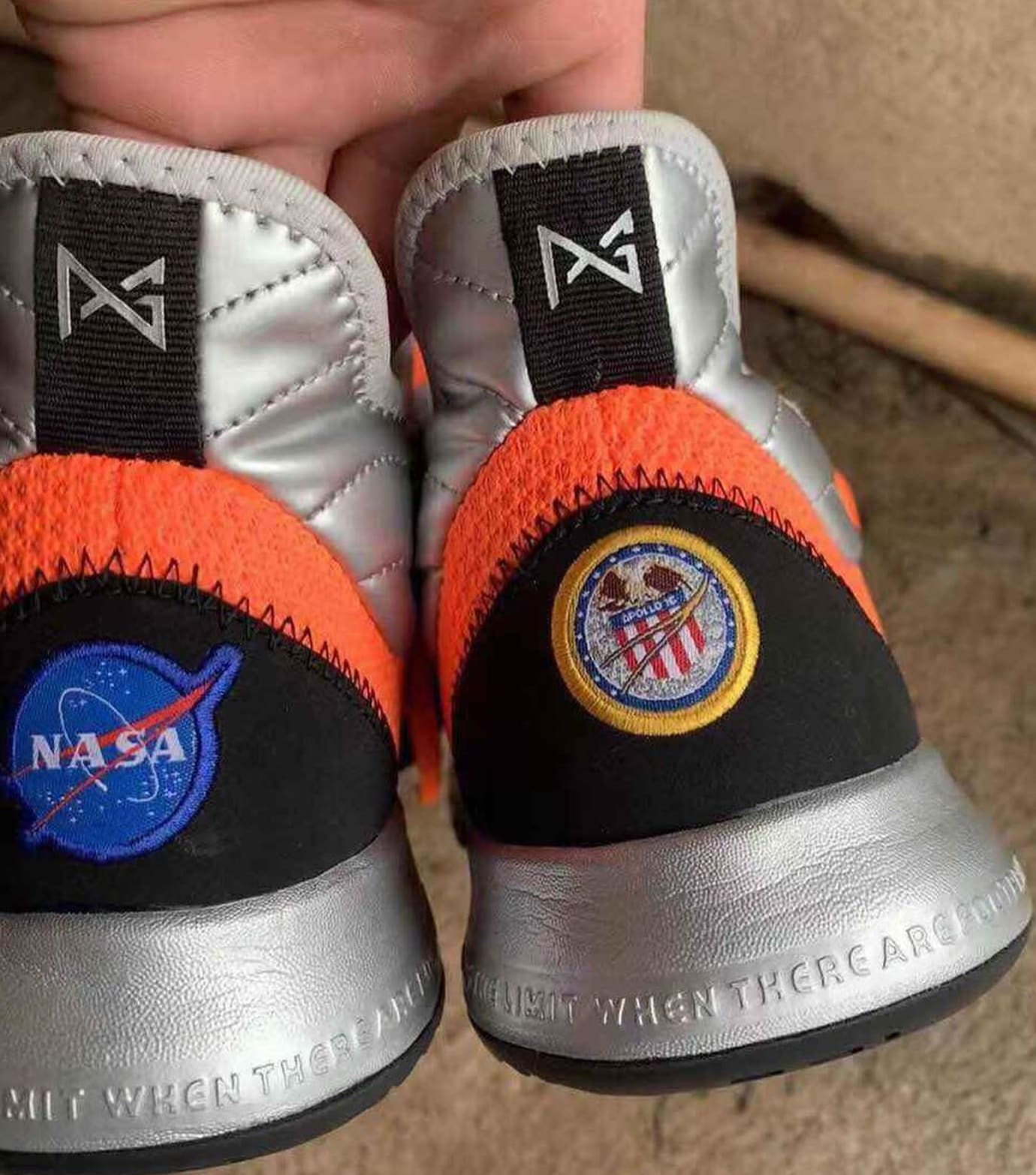 2e8ea703f72 Image via Instagram   spicychickenwings Nike Paul George Budget NASA Collab  Release Date