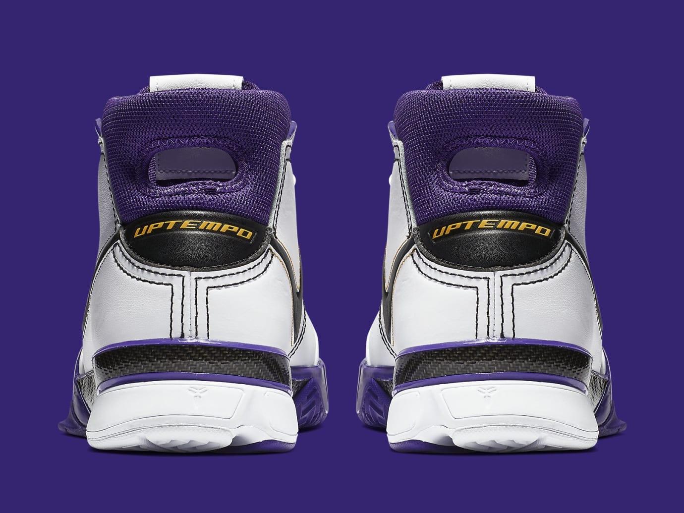 Nike Kobe 1 Protro 81 Points Release date AQ2728-105 Heel