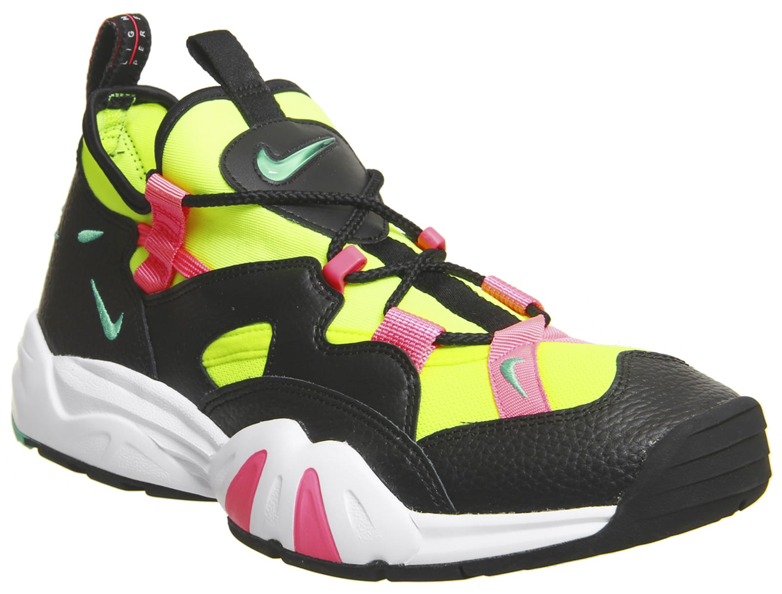 Nike Air Scream LWP 'Black/Menta/Racer Pink' (Front)