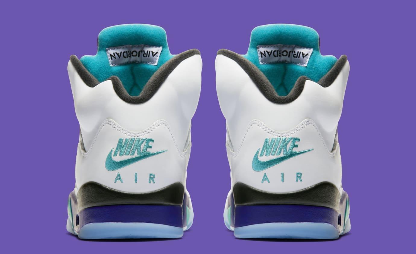 4db6becc024232 Image via Nike Air Jordan 5 Retro NRG  Fresh Prince  AV3919-135 (Heel)