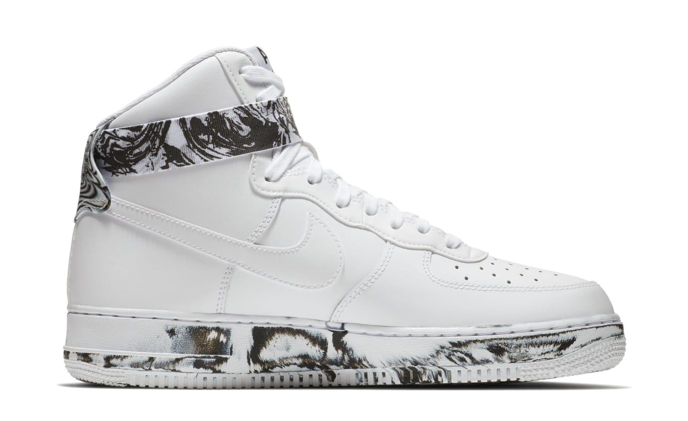 564fd1e964d Image via Nike Nike Air Force 1 High  White Black White  AT3293-100 (
