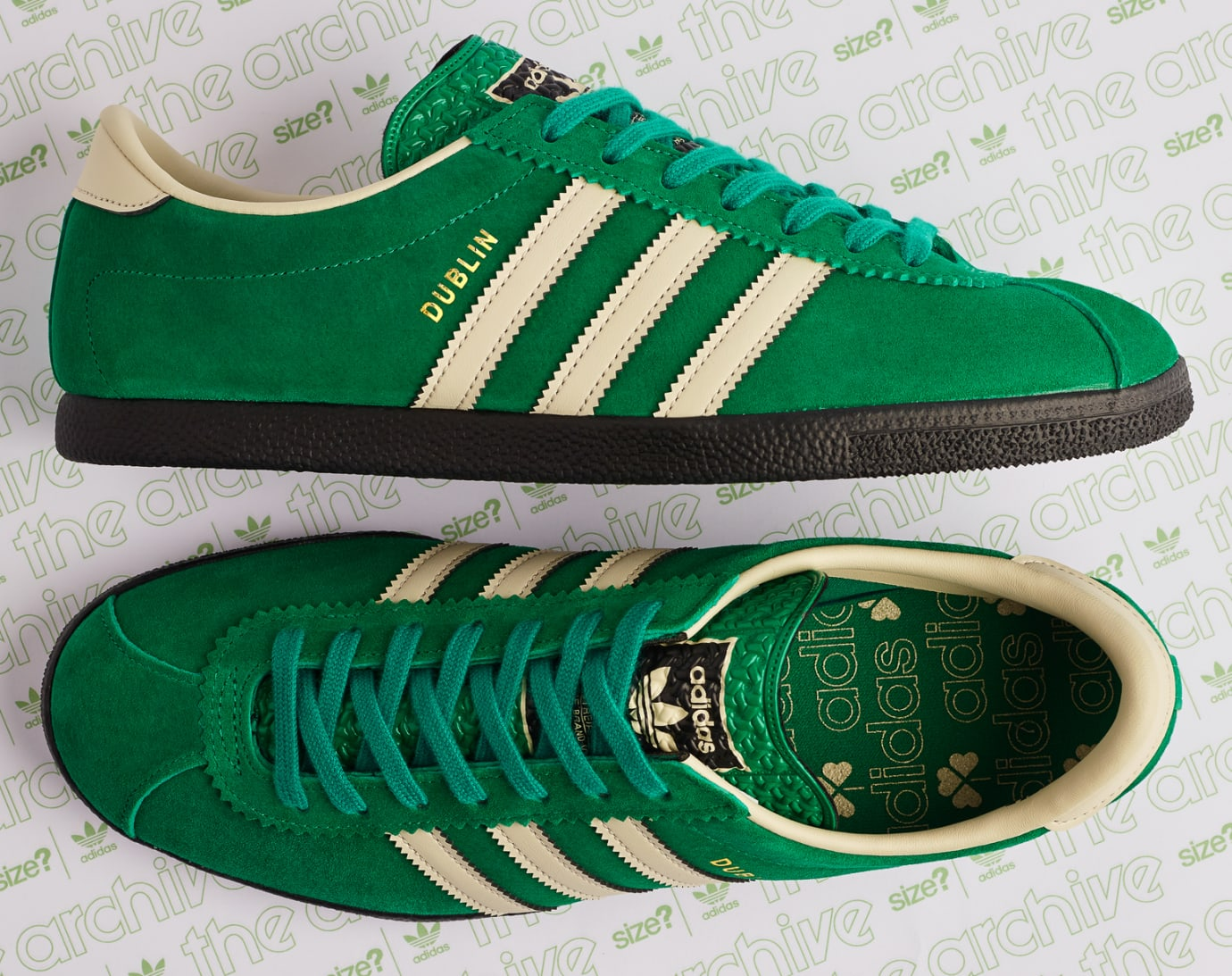 Size? x Adidas Dublin 'St Patrick's Day' (Insole)