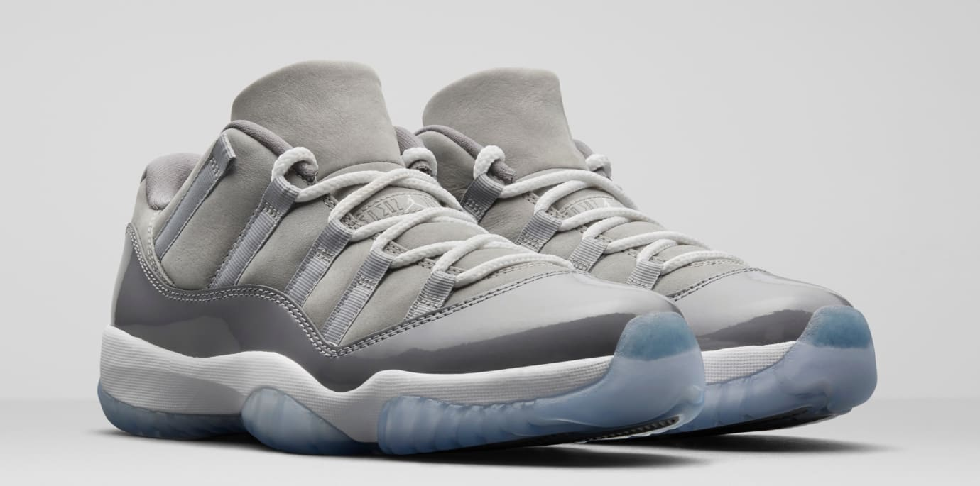 new style 7ff1d 180c1 Air Jordan 11 XI Low Cool Grey 2018 Release Date 528895-003 ...