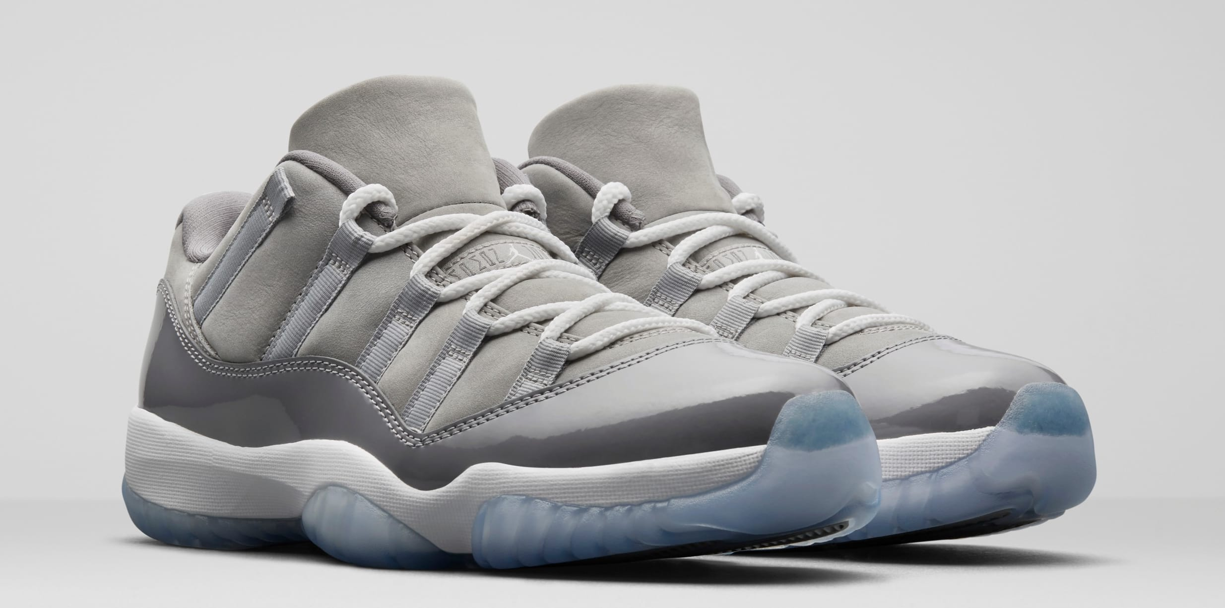 3e27be2c6f0a65 sweden air jordan 11 low cool grey pair 45959 1aefd