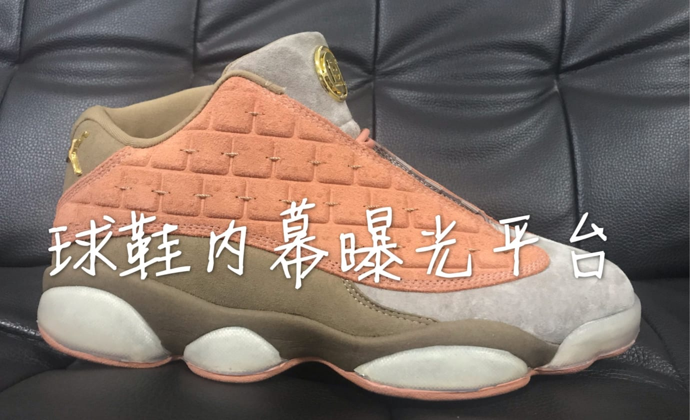 Clot x Air Jordan 13 Low (Lateral)