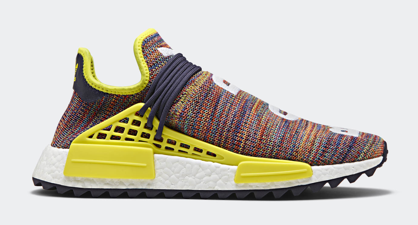 Pharrell x Adidas Originals Hu NMD TR 'Hiking Collection' AC7360 (Lateral)