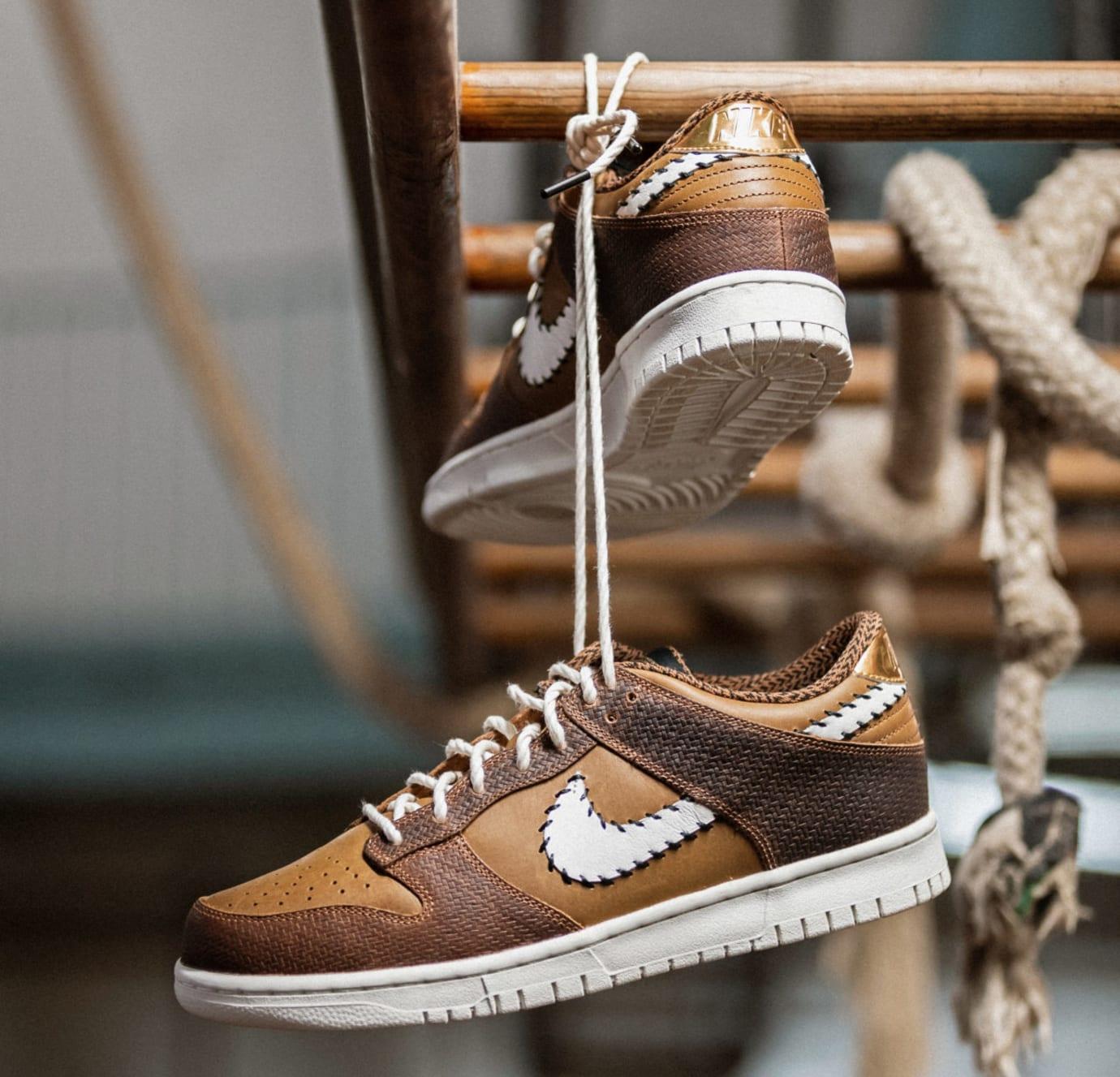 Nike Dunk Low PRM QS Paris 'Ale Brown' AH1072-200 (Pair)
