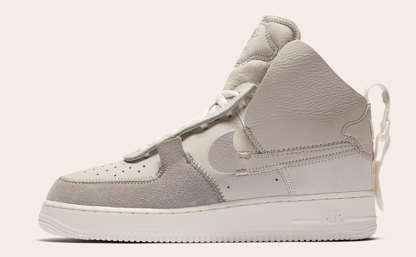 c88bba14803f34 PSNY x Nike Air Force 1 High Black White Wolf Grey Release Date ...