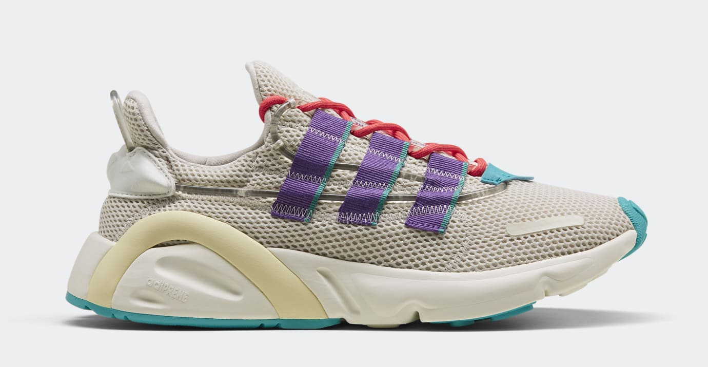 Adidas LXCON 'Clear Brown/Active Purple/Shock Red' EE7403 (Lateral)
