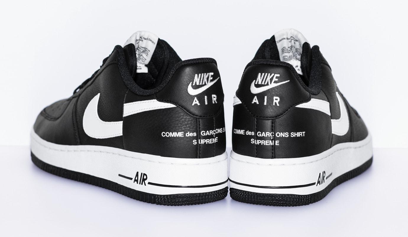 ca0528367874 Image via Supreme Comme des Garçons x Supreme x Nike Air Force 1 Low 4