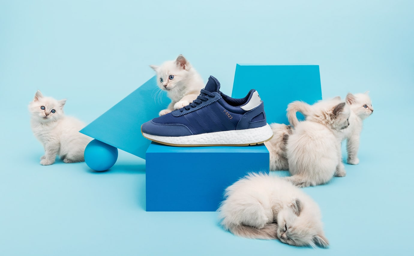 Sneakersnstuff Adidas I-5923 'Dark Blue' B43525 (Left Shoe)