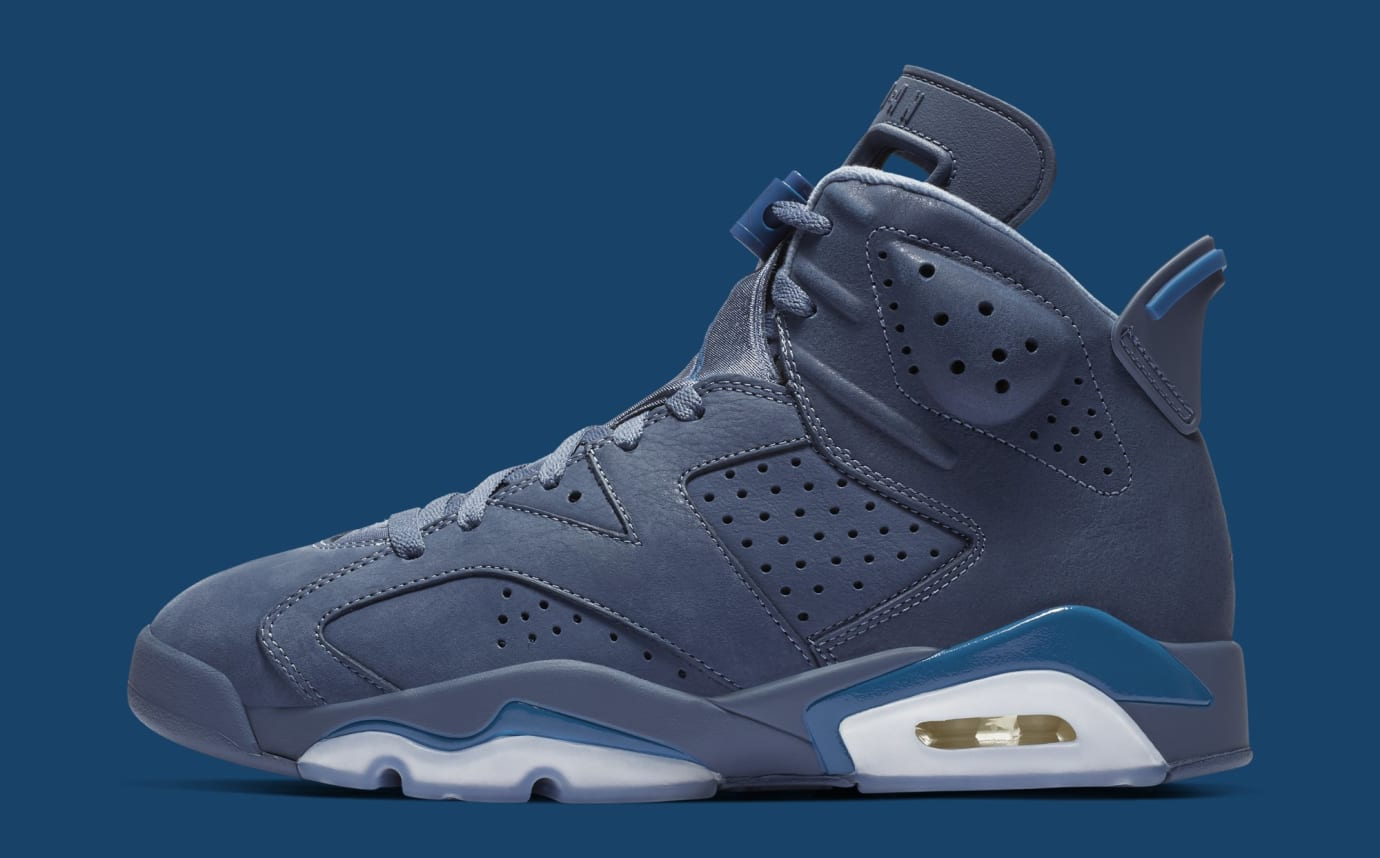 Air Jordan 6 'Diffused Blue' 384664-400 (Lateral)