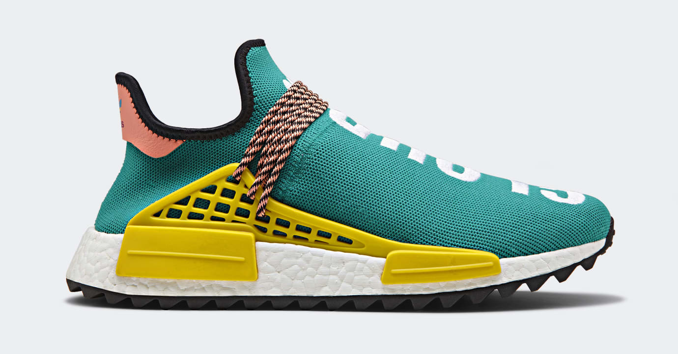 Pharrell x Adidas Originals Hu NMD TR 'Hiking Collection' AC7188 (Lateral)