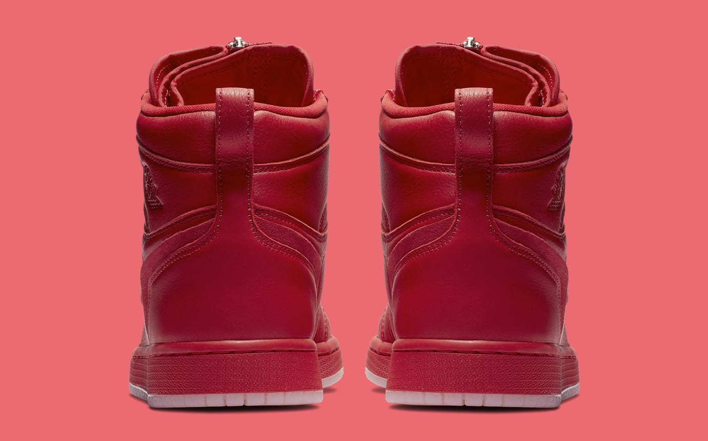 timeless design b2d83 76277 Image via Nike Vogue x Air Jordan 1 Zip AWOK University Red Heel