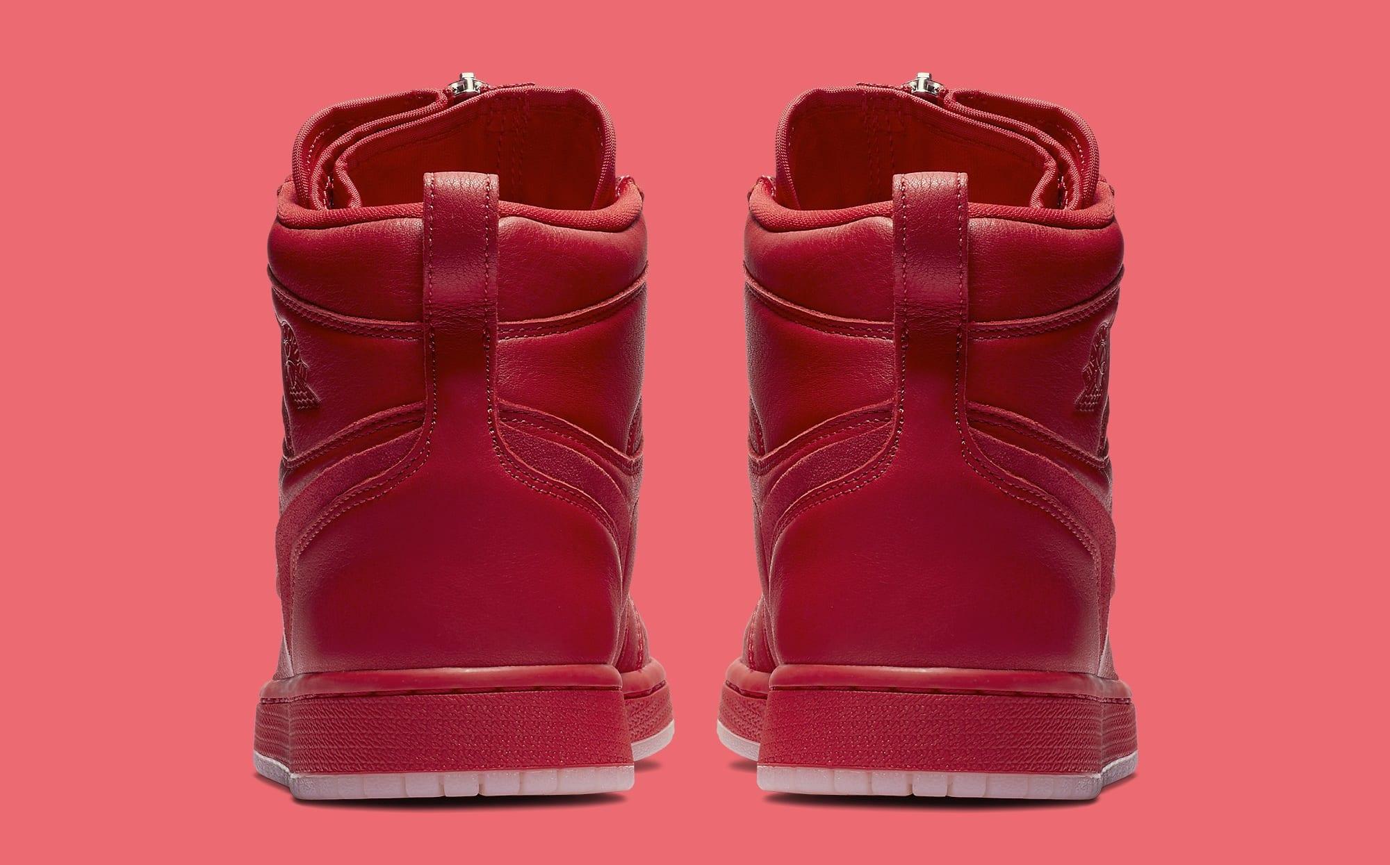 Vogue x Air Jordan 1 Zip AWOK University Red Heel