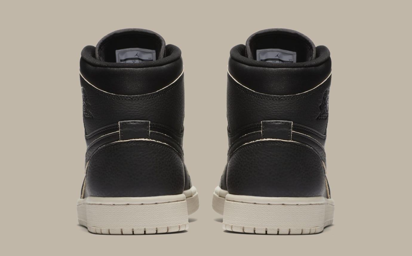 new style 7a6f9 bb7df Image via Nike Air Jordan 1  Black Desert Sand Black  AA3993-021 (Heel
