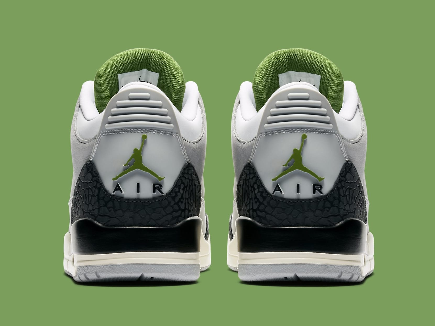 6949400bf9d Air Jordan 3 III Chlorophyll Release Date 136064-006 | Sole Collector