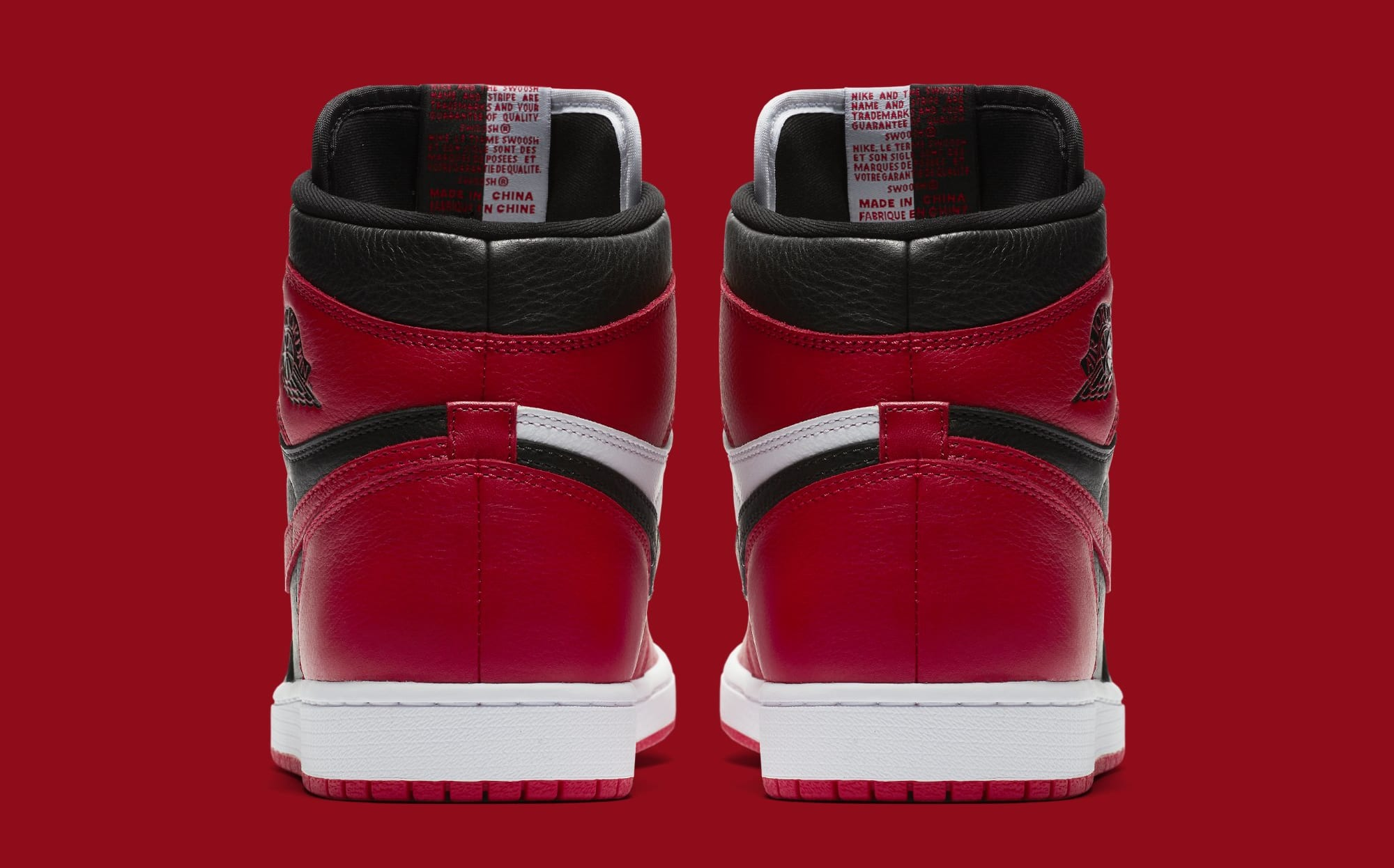 ... Image via Nike Air Jordan 1 Homage to Home 861428-061 (Heel) ... a5f7ad715