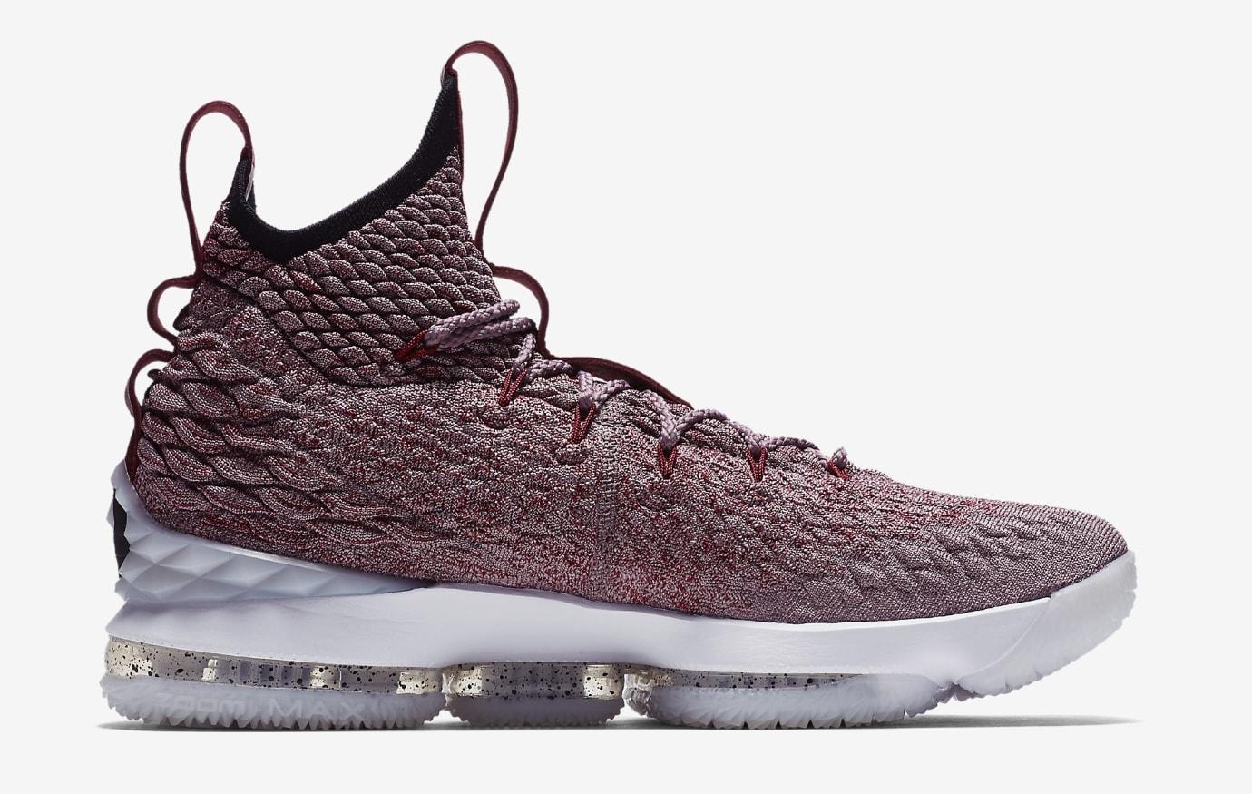 Nike LeBron 15 'Wine' 897649-201 (Medial)