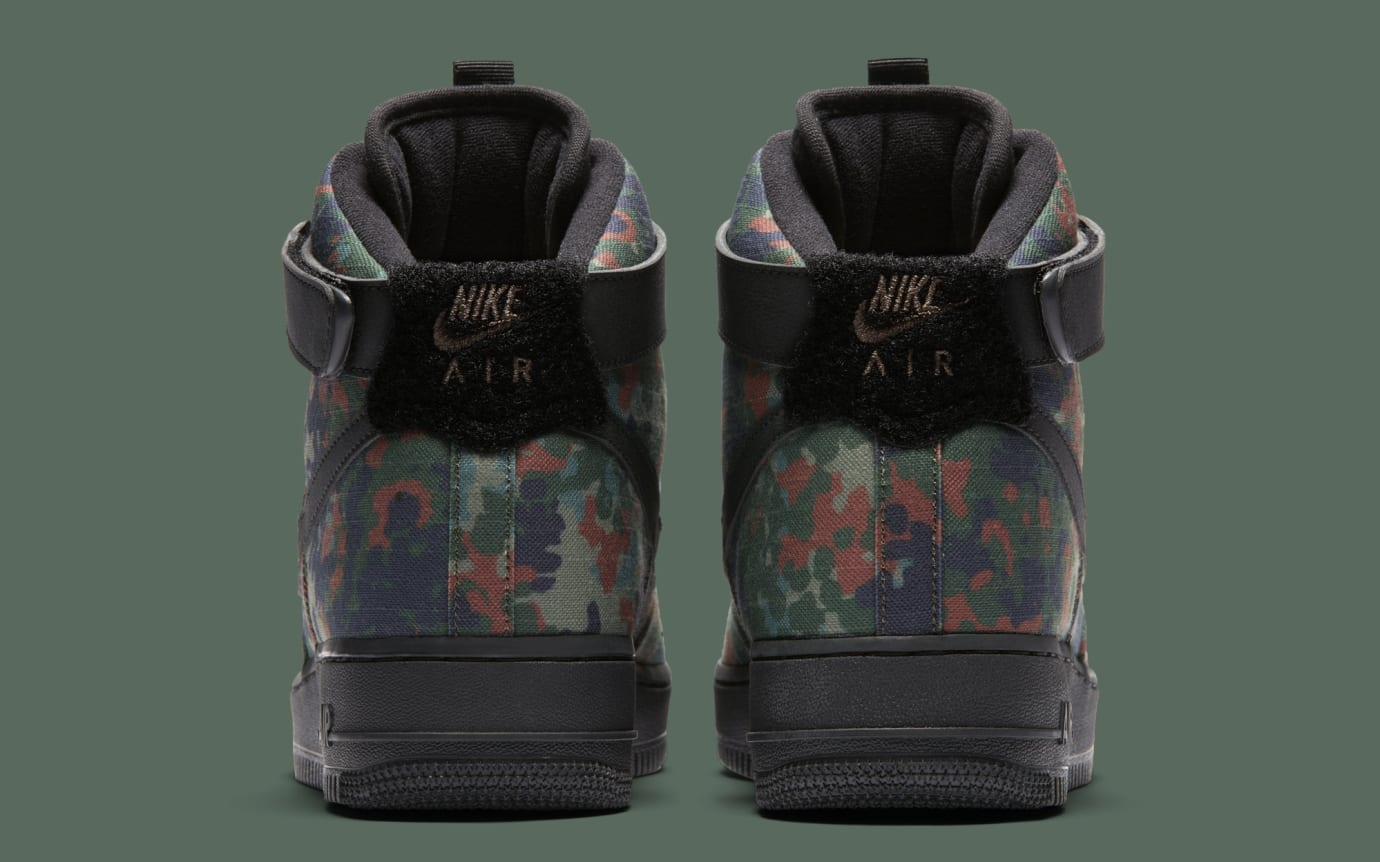 detailed pictures 5ee4e 11330 Image via Nike Nike Air Force 1 High Country CamoGermany BQ1669-300 (Heel