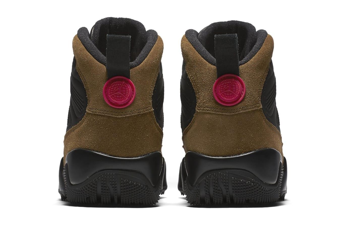 7b174df78bc4bd Image via Nike Air Jordan 9 NRG Boot  Olive  AR4491-012 (Heel)