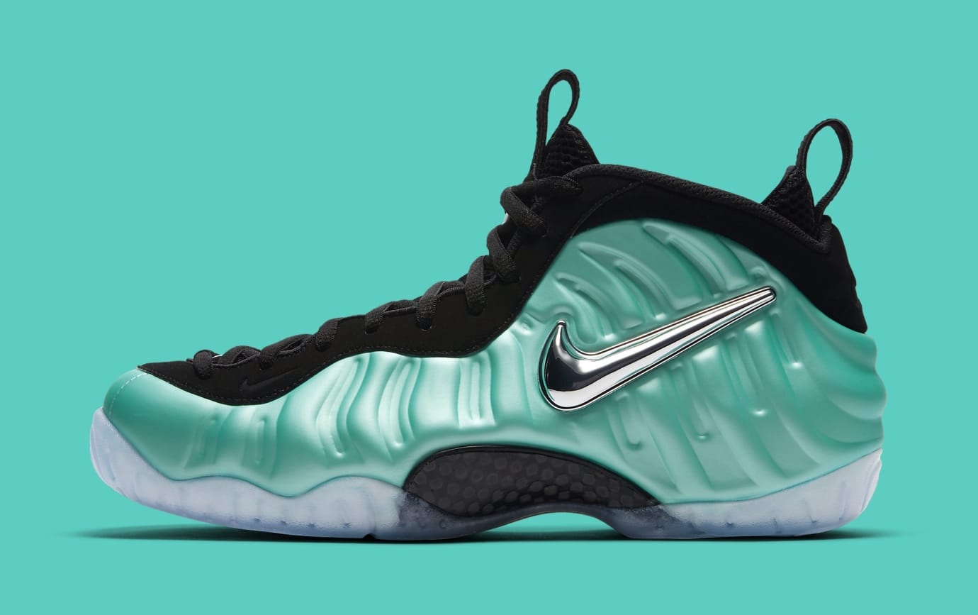 brand new 73f12 22733 Island Green Nike Air Foamposite Pro 624041-303 | Sole Collector