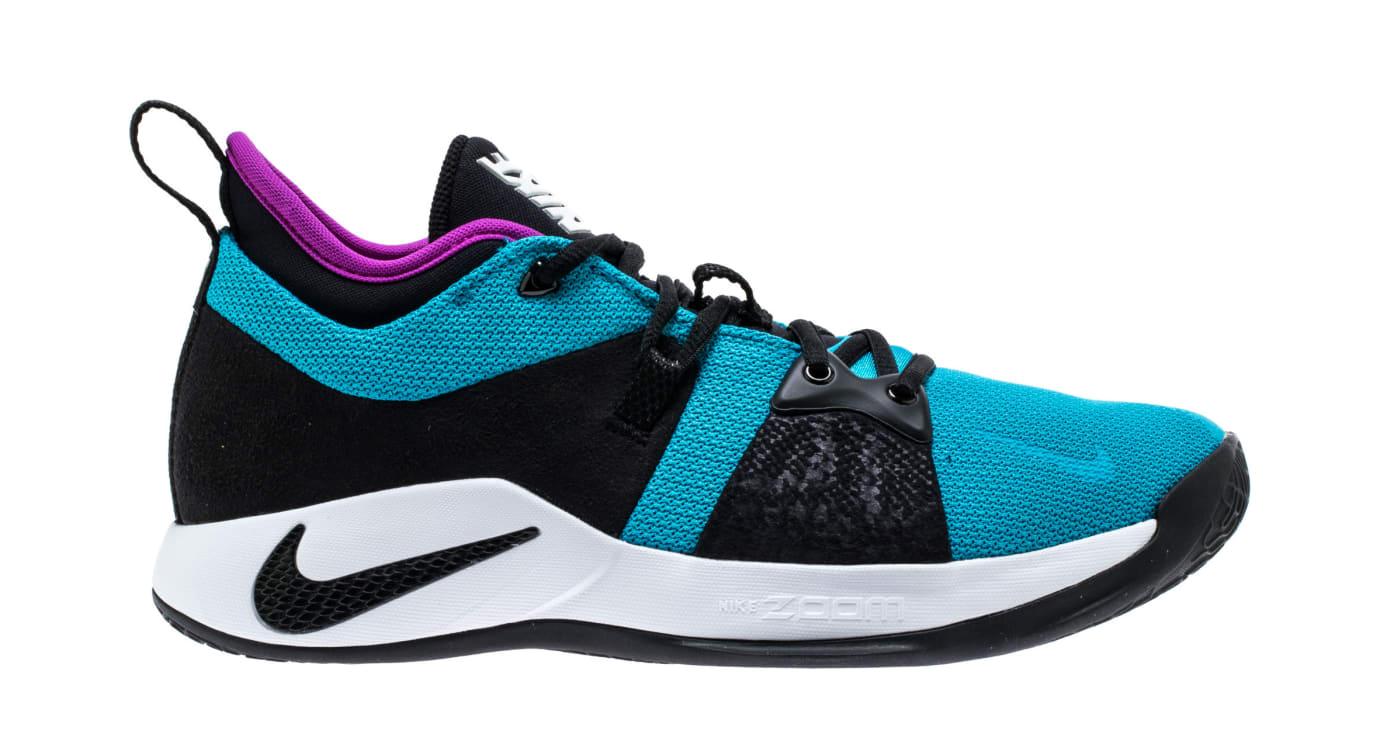 Nike PG2 'Blue Lagoon/Hyper Violet/White' AJ2039-402 (Lateral)