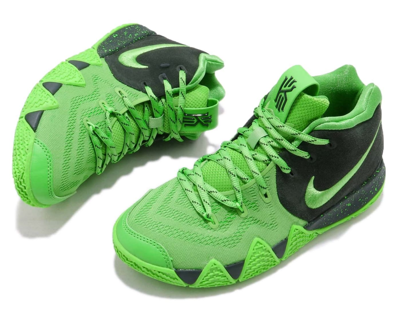 Nike Kyrie 4 GS Spinach Green Release Date AA2897-333 Top