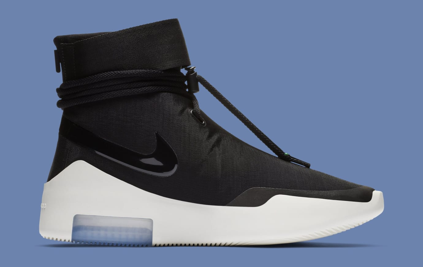 Nike Air Fear of God Shoot Around 'Black' AT9915-001 (Medial)