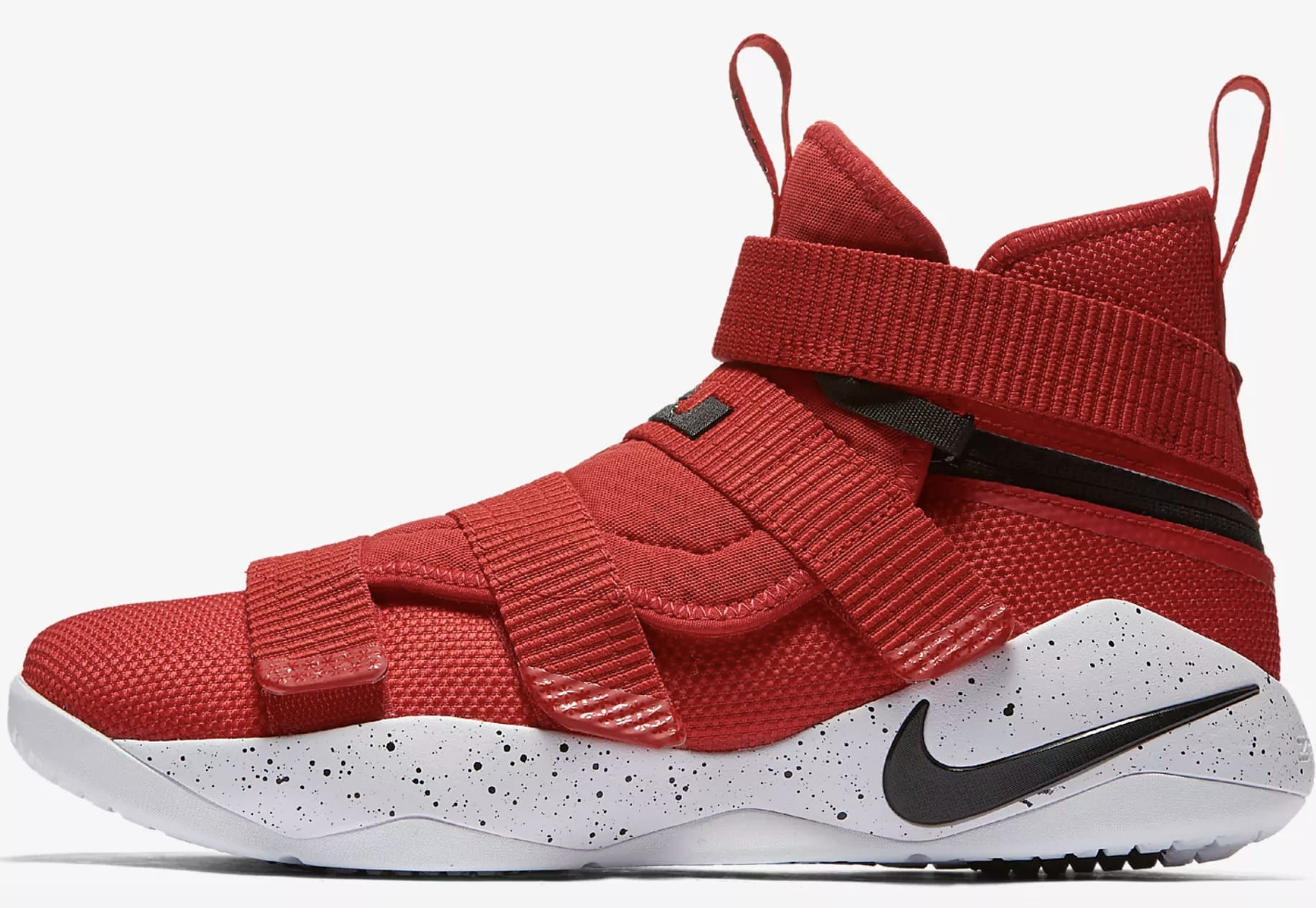 Lebron All Red Shoes
