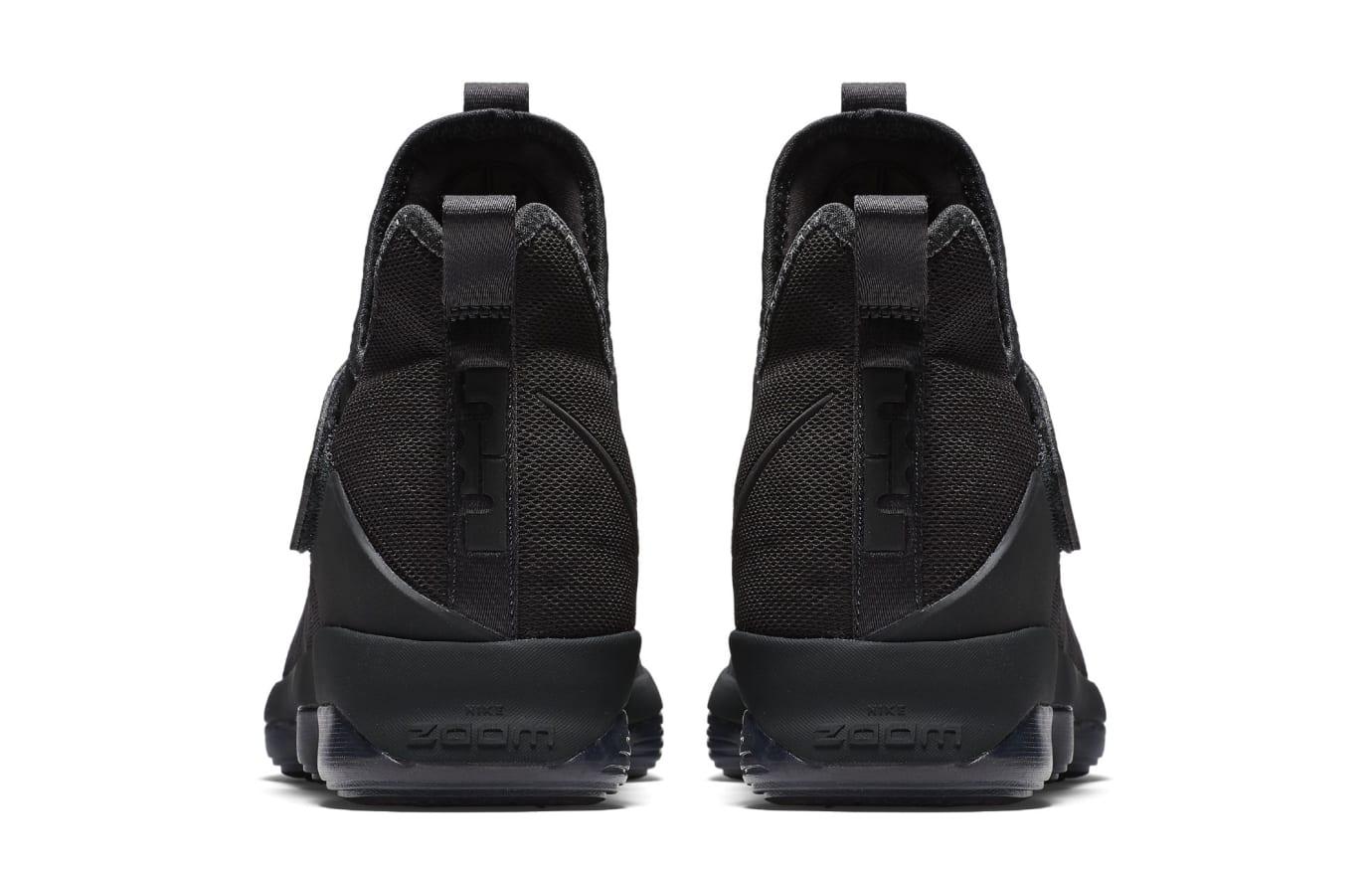 Nike LeBron 14 Blackout Zero Dark Thirty-23 Release Date Heel 852402-002
