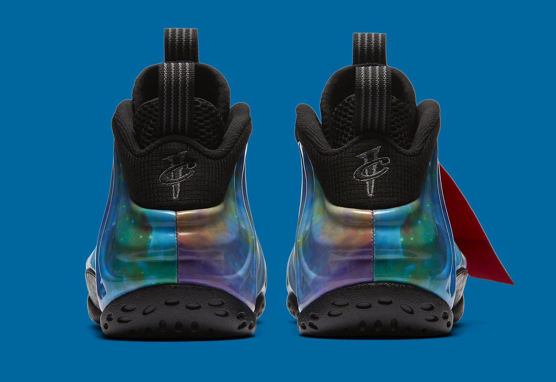 Nike Air Foamposite One 'Galaxy' 2 AR3771-800 (Heel)