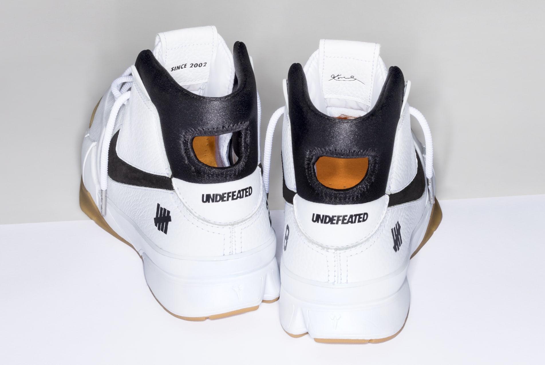 Undefeated x Nike Kobe 1 Protro 'White/Gum' 5