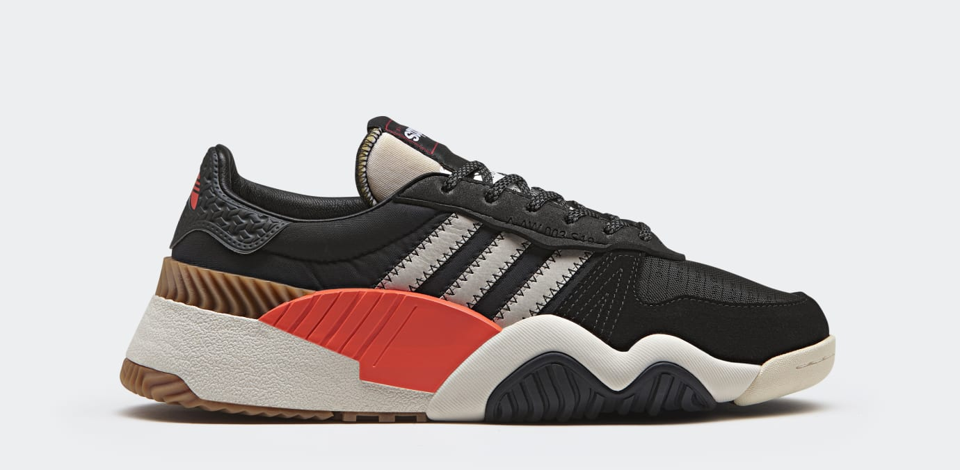 Alexander Wang x Adidas Turnout Trainer 'Core Black' AQ1237 (Lateral)