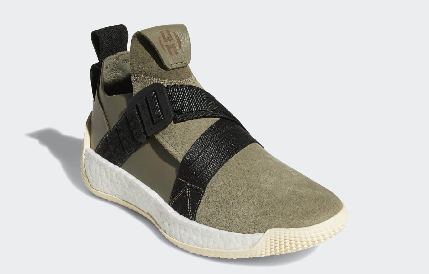 9ba99ea8347 Adidas Harden LS 2 Buckle  Black   Olive   Brown  Release Date ...