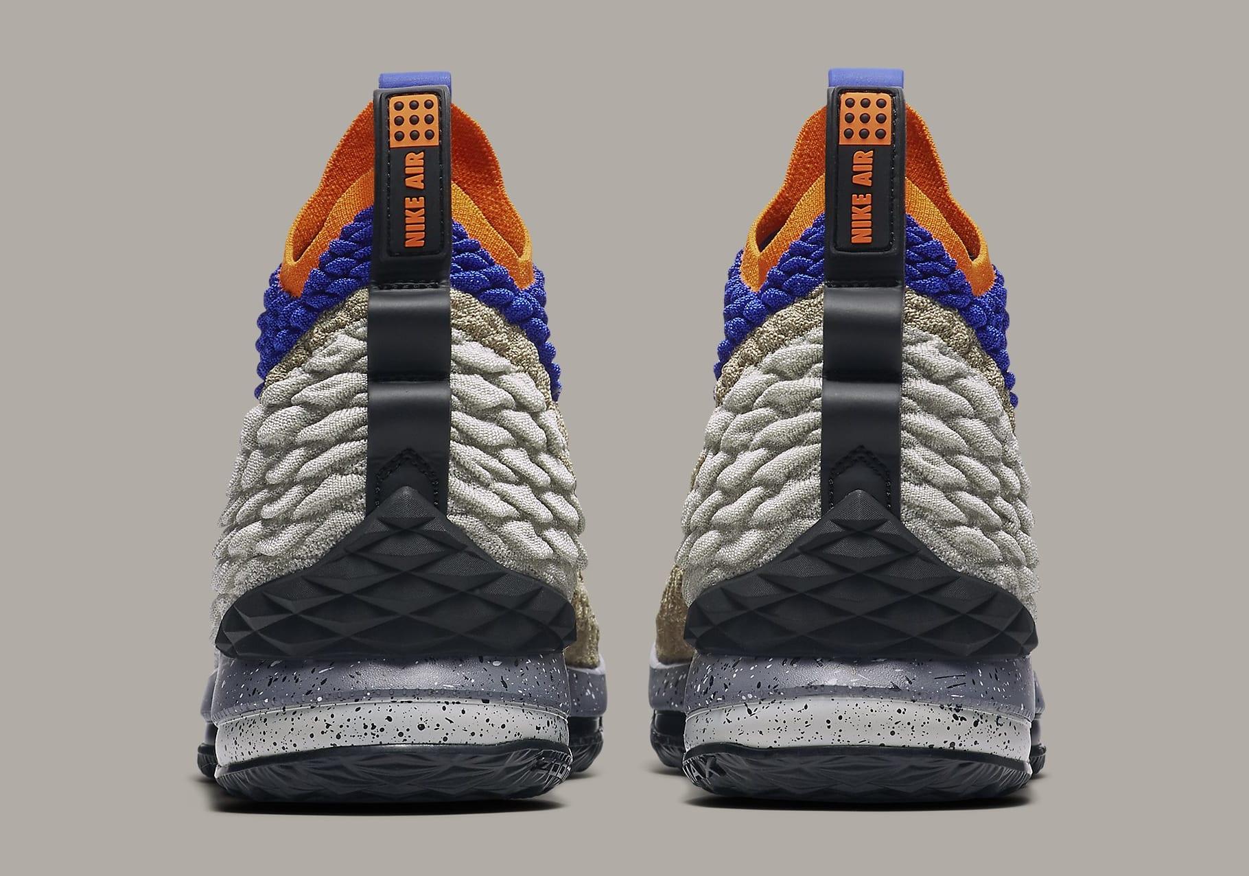 Nike LeBron 15 Mowabb Release Date AR4831-900 Heel