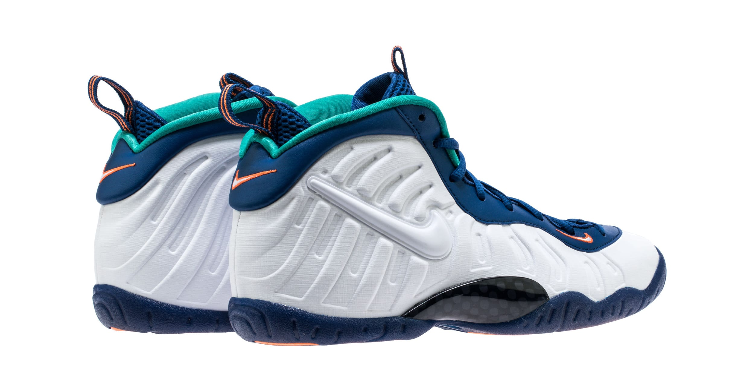 Nike Little Posite Pro 'Gym Blue' 644792-404 (Heel)