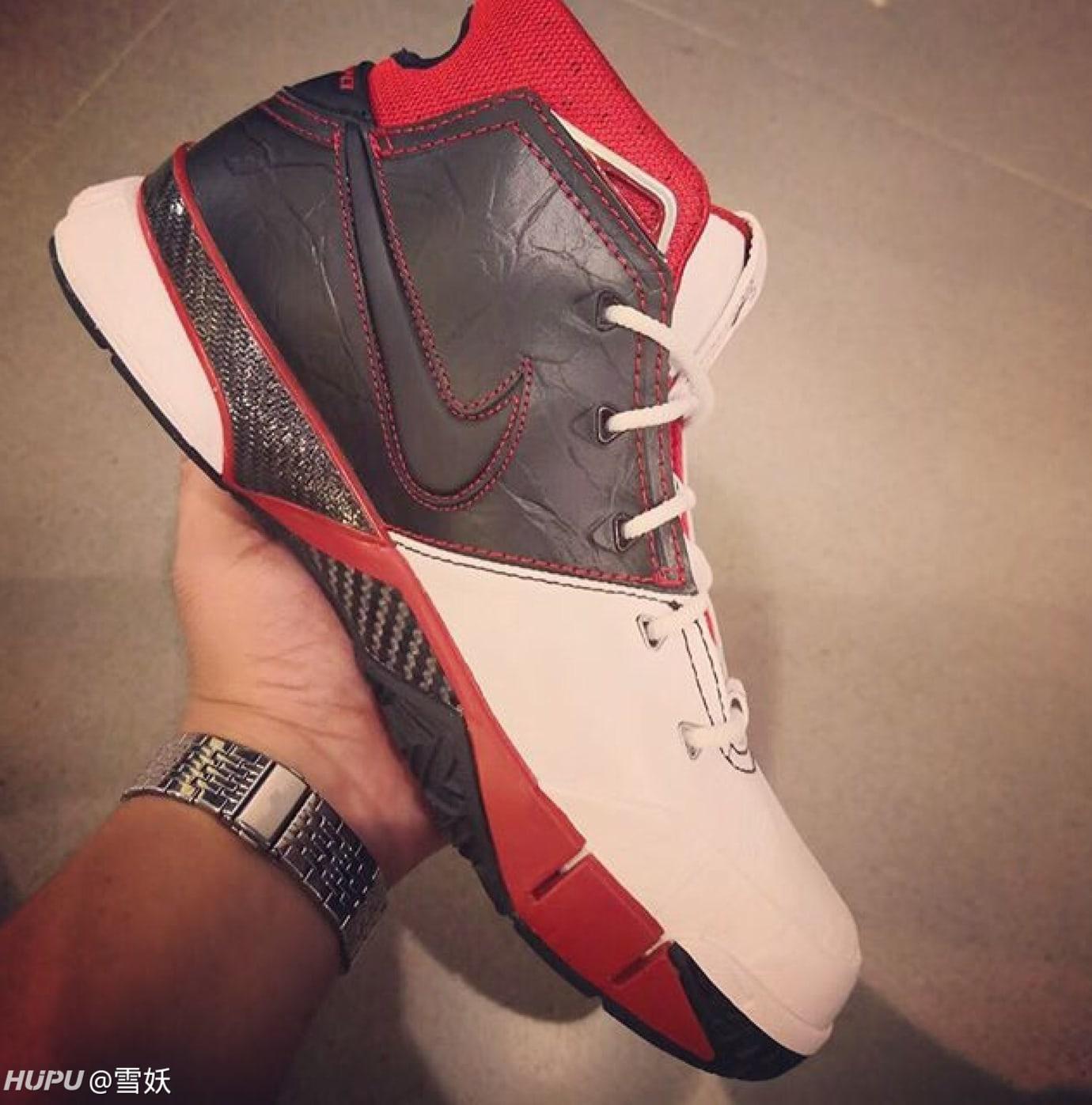 51f47c094194 Image via Hupu · Nike Zoom Kobe 1 Protro All-Star Release Date AQ2728-102  Medial