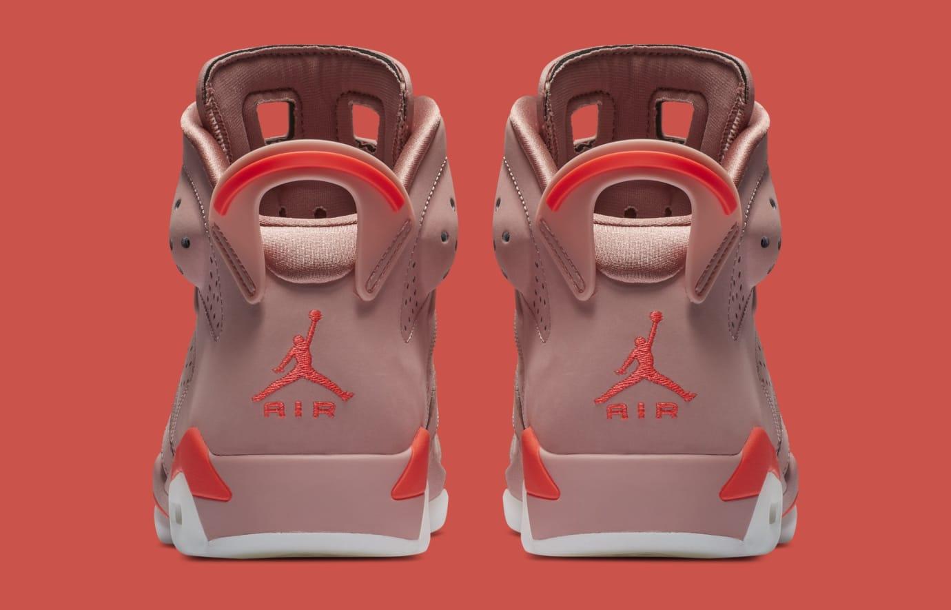 b2c505ee9c4e30 Image via Nike Aleali May x Air Jordan 6  Rust Pink Bright Crimson   CI0550-600