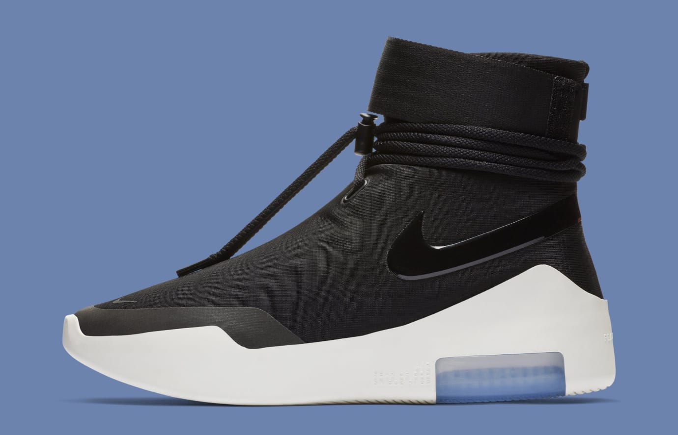 Nike Air Fear of God Shoot Around 'Black' AT9915-001 (Lateral)