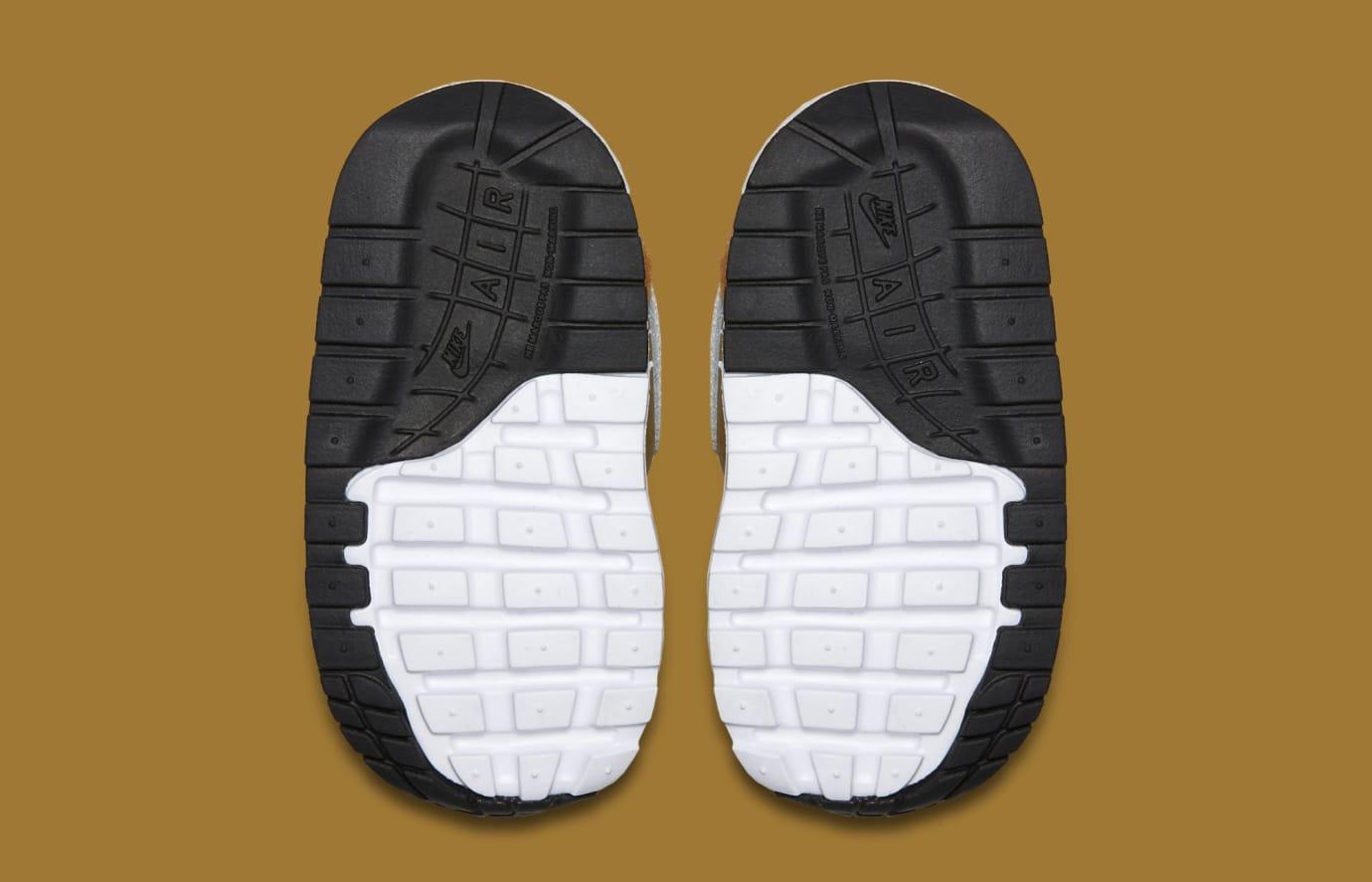 Nike Air Max 1 Premium TD 'Dark Curry/Sport Blue/Black/True White' AT3360-700 (Soles)