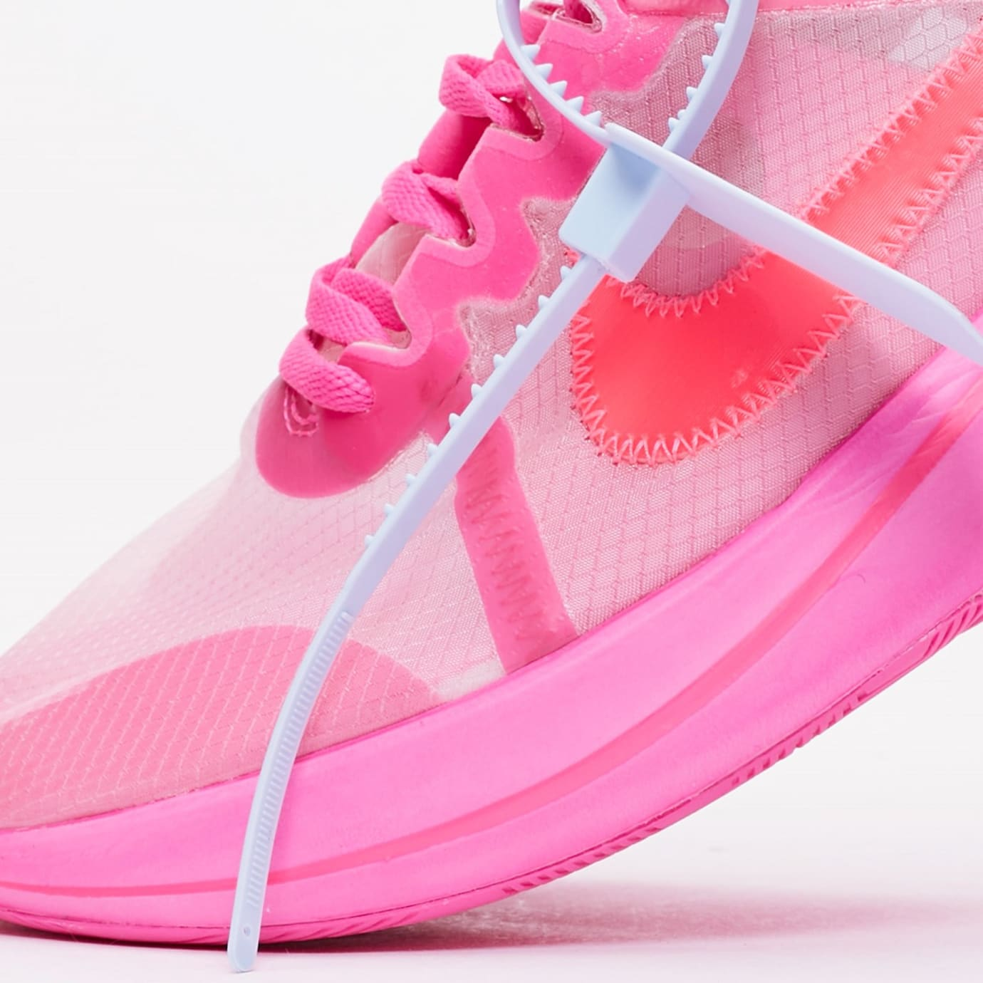 best loved f3000 a55fa Image via Sneakersnstuff Off-White x Nike Zoom Fly SP AJ4588-600  Tulip  Pink Racer