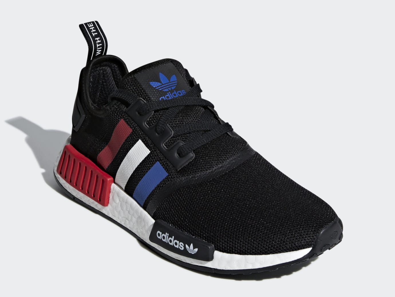 6c628fbcf7917 Image via Adidas Adidas NMD R1 Color Pack Tricolor Release Date F99712 Front