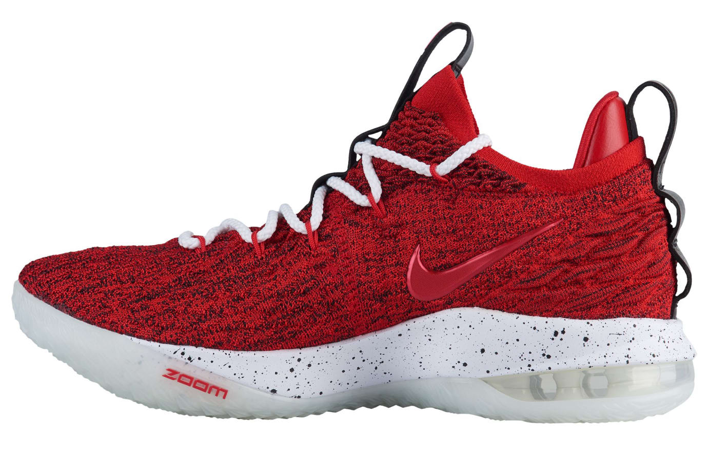 3c364199c115 Nike LeBron 15 XV Low University Red Release Date AO1755-600